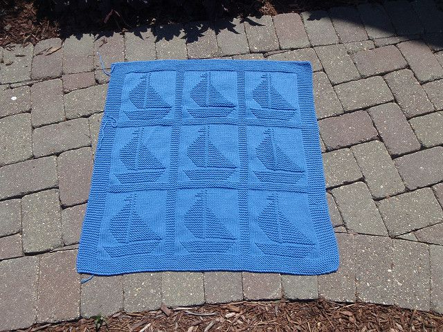 Sailboat Knitting Pattern Baby Blanket : 1000+ images about knitting pretty... on Pinterest ...