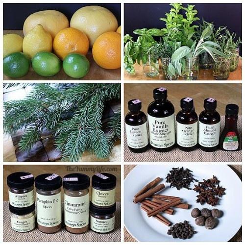 Make natural room scents