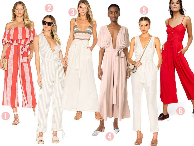 Aimee of Song of Style shares a jumpsuit shopping guide for summer