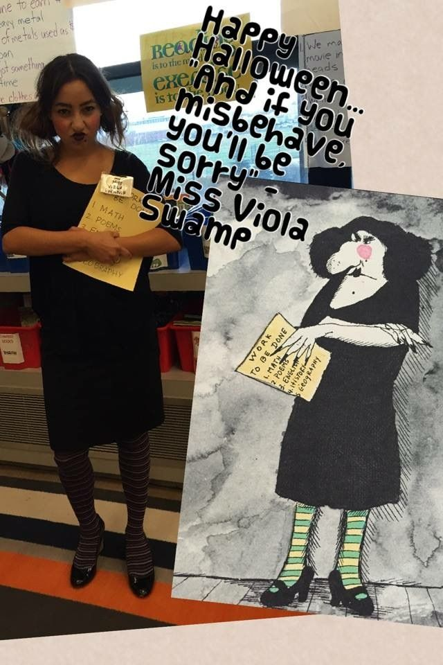 Miss Viola Swamp Teacher costumes Miss Nelson is Missing