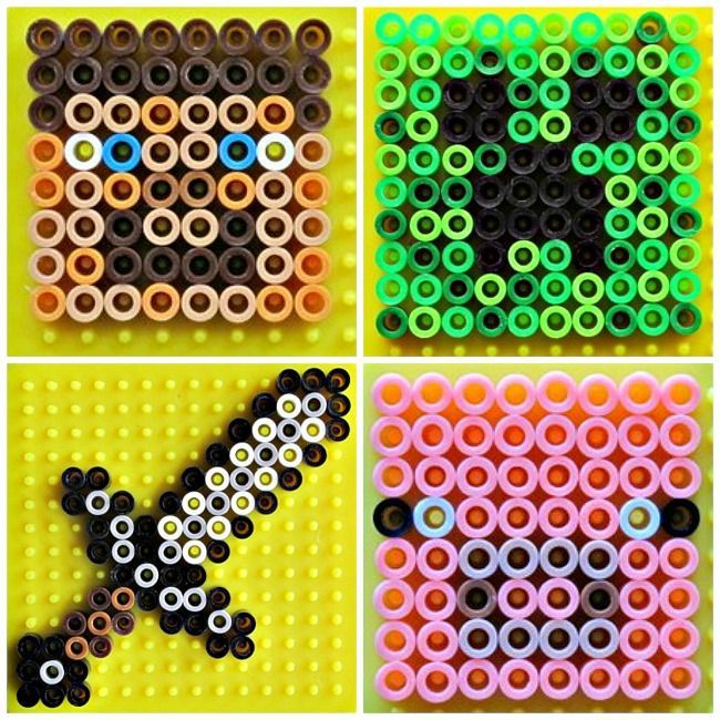 Minecraft Perler Beads Patterns Ideas
