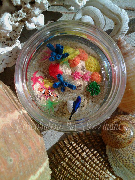 Guarda questo articolo nel mio negozio Etsy https://www.etsy.com/it/listing/457687982/miniatura-acquario-reef-miniature-reef