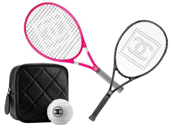 All tennis fans now have a reason to celebrate and with the latest collection of Chanel's tennis gear. With a plethora of rackets to choose from, they have kept in mind that each customer's needs are met. Even better is the availability of matching balls with a Chanel logo and quilted covers to complete the kit. 'Serves' you well, doesn't it?