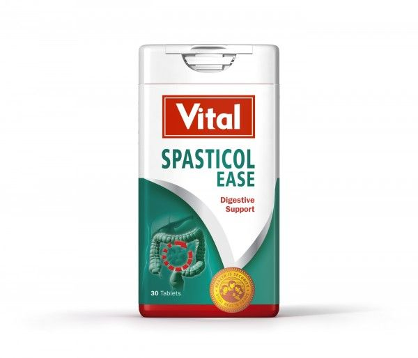 vital spasticol ease digestive support