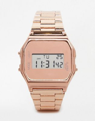 New Look Nude & Rose Gold Digital Watch