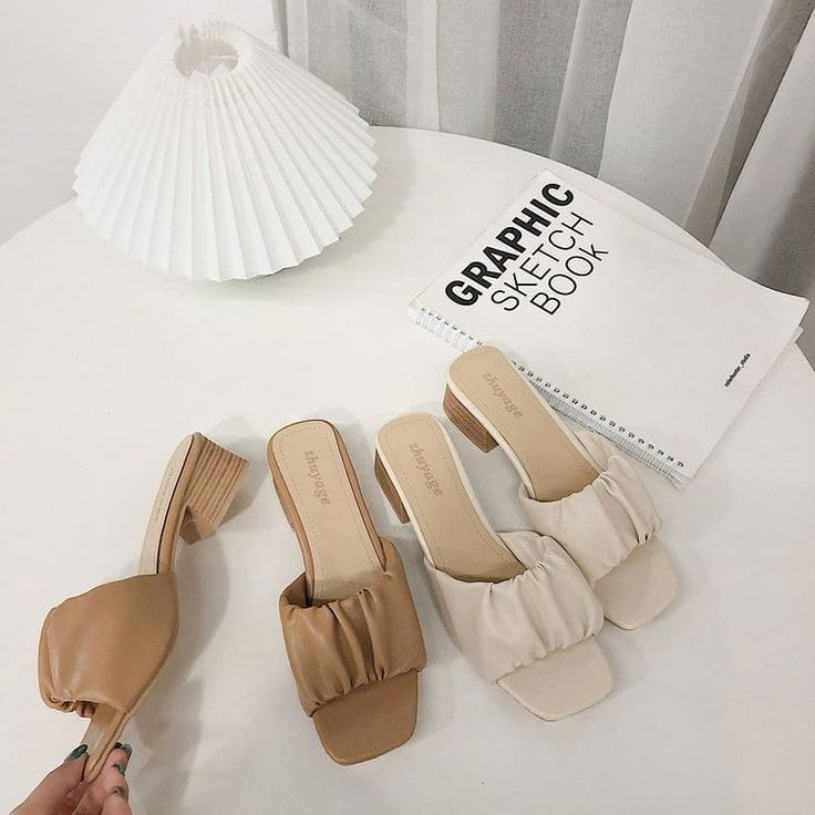 Kode Sl785 Khaki Beige Harga 155rb Heels 4cm Size 35 39 Material Pu Reseller Dropship Kontak Kita Wa 081 Chunky Heels Slide Sandals Sandals