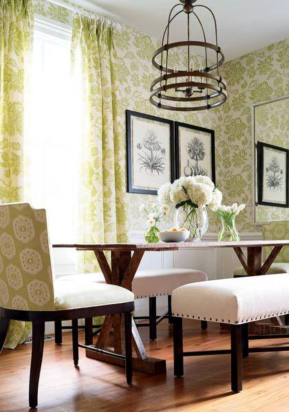 49 best Debonair Dining Rooms images on Pinterest | Designer ...