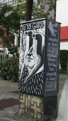 • street art :  TRECO  (brazilian) Rua Estados Unidos x Avenida Rebouças • São Paulo • SP • BRAZIL