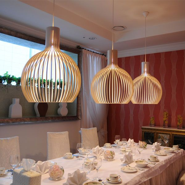 40,00  Simple Modern Iron Birdcage Pendant Light Bedroom Restaurant Lamp 220V