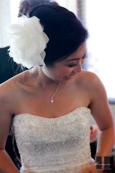 Hair Fascinator DIY Tutorial  :  wedding accessories diy san diego tutorial veil Getting01 Getting01
