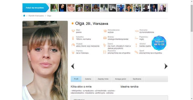 Olga, lat 26, Randki Warszawa - Przeznaczeni.pl - portal randkowy