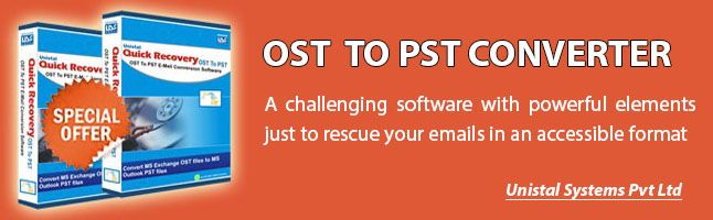 Convert OST to PST tool is most user friendly which is help to convert ost file into PST file format without any data loss in single click : http://www.unistal.com/ost-to-pst-converter-software.html