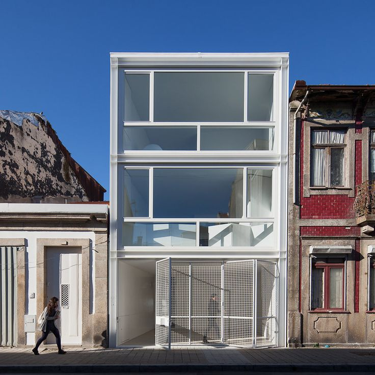 House Lindo Vale Is A Minimalist House Located In Porto, Portugal, Designed  By Ana Cláudia Monteiro + Vítor Oliveira. The Residence Is Located In The  Rua Do ...