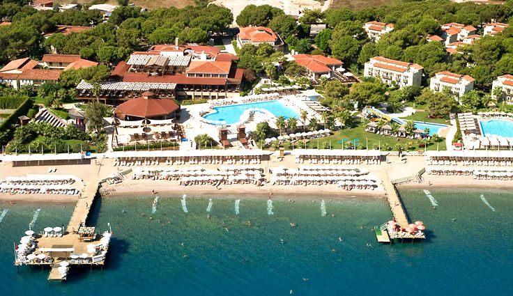 Crystal Flora Beach Resort - Kemer, Antalya Otelleri