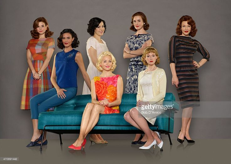 CLUB - ABC's 'The Astronaut Wives Club' stars JoAnna Garcia Swisher as Betty Grissom, Odette Annable as Trudy Cooper, Azure Parsons as Annie Glenn, Yvonne Strahovski as Rene Carpenter, Dominique McElligott as Louise Shepard, Zoe Boyle as Jo Schirra and Erin Cummings as Marge Slayton.