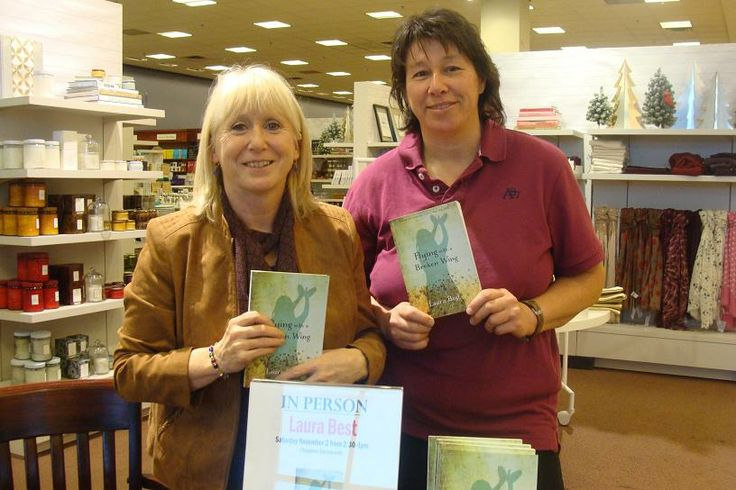 """I met author Diane Tibert in Nov 2013 at a signing for my book, """"Flying With a Broken Wing."""""""