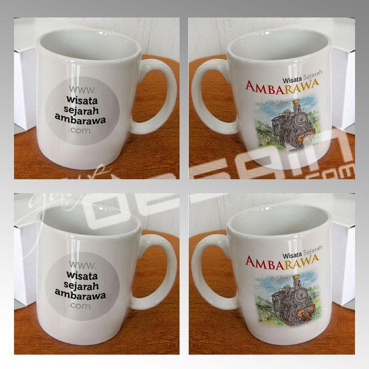 Ambarawa Heritage Mug Draft //Desain