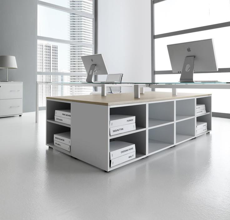 oltre 25 fantastiche idee su organizzare i mobili per ufficio su ... - Mobili Per Ufficio Su