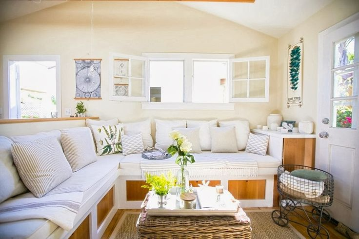 Beach Cottage Living Room | Living room