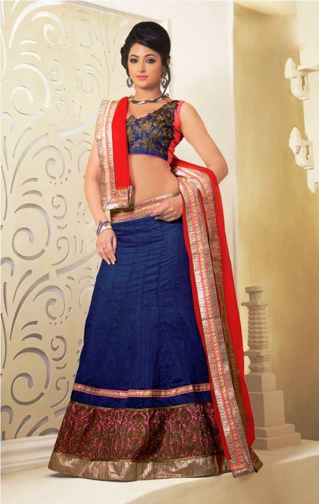 Open Party Hairstyles For Long Hair With Lehenga Pictures Party