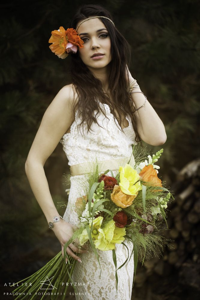 Summer boho style  photo by Atelier Pryzmat  production abcslubu.pl