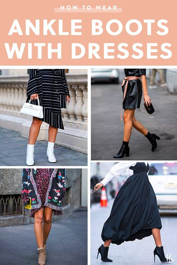 dresses you can wear with ankle boots