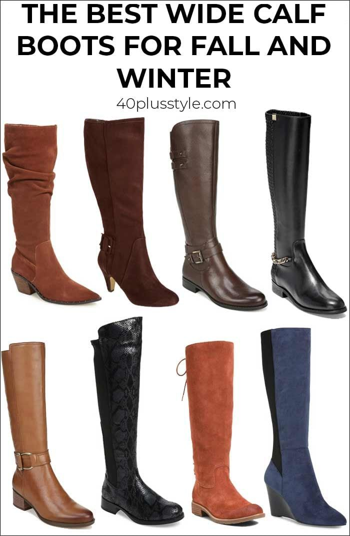 the best wide calf boots this winter