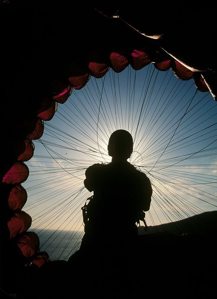 Paragliding Rose