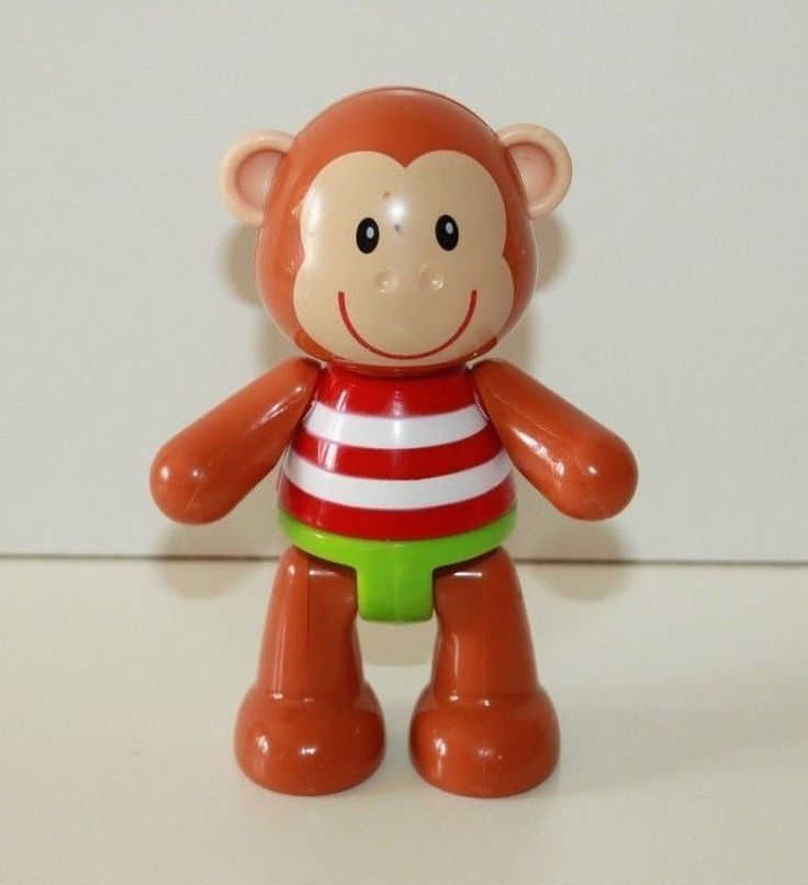 Early Learning Centre Toy Box Animal Monty Monkey Squeaker ...
