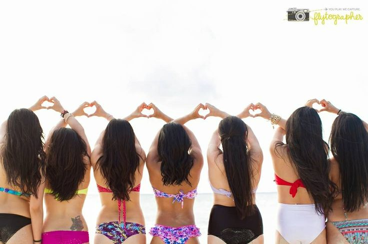 This is actually me and my girlfriends! =D  Now I'm going to have to add Flytographer to my future trip itineraries...and budgets =P Girlfriends Trip. #besties #bff #wedding #bachelorette #destination #cancun #mexico #photographer #travel #girlfriends #beach  Photographer: Monica Lopez for Flytographer