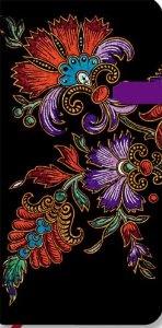 Lyon Florals Flor De Pasion Ebony Slim Lined: Paperblanks Book Company: 9781551567211: Amazon.com: Books