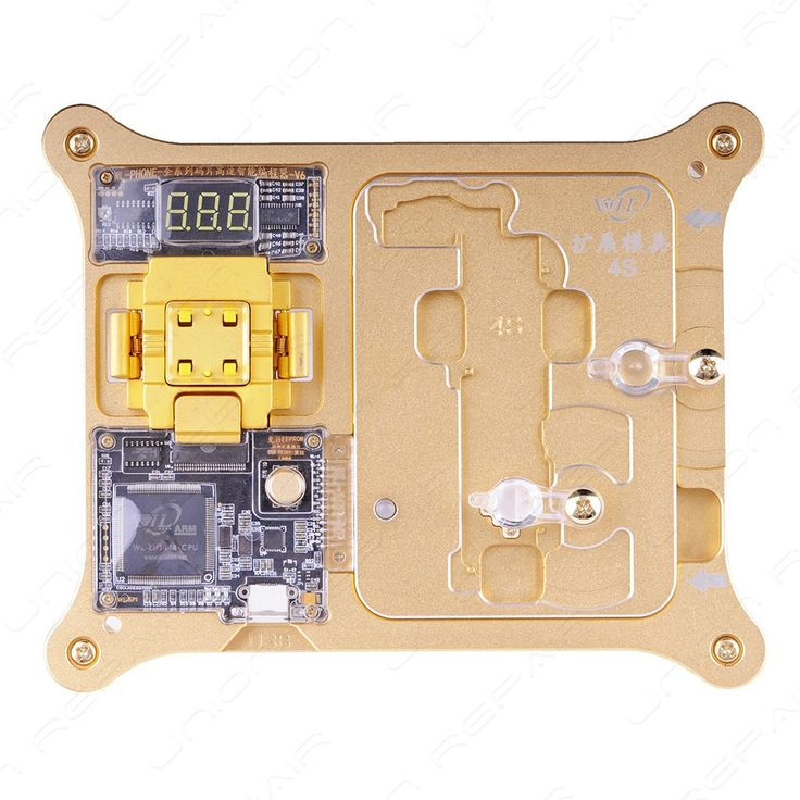 WL 32 64 Chip Programmer For iPhone 4S 5 5C 5S 6 6P 6S 6SPFunctions:1. One-key operation, you can read the IMEI number in chip, you will get weather there is an ID lock or not at once.2. One-key operation,...
