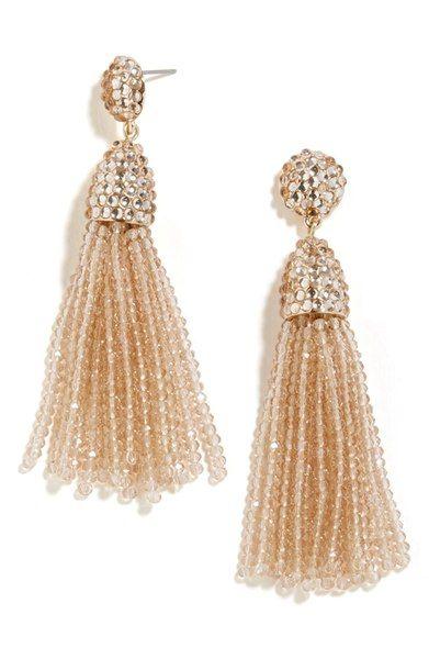 'Nynette' Drop Earrings BAUBLEBAR, tassel earrings https://api.shopstyle.com/action/apiVisitRetailer?url=http://shop.nordstrom.com/s/baublebar-nynette-drop-earrings/4463164&pid=uid7609-25959603-56