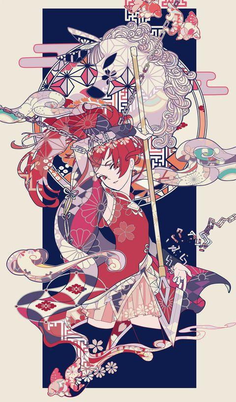 Kyoko | Puella Magi Madoka Magica #anime #PMMM