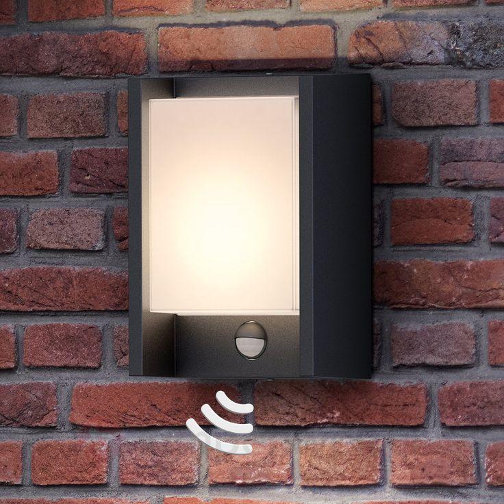 Mit Bewegungsmelder - LED-Außenwandleuchte Arbour 7531801