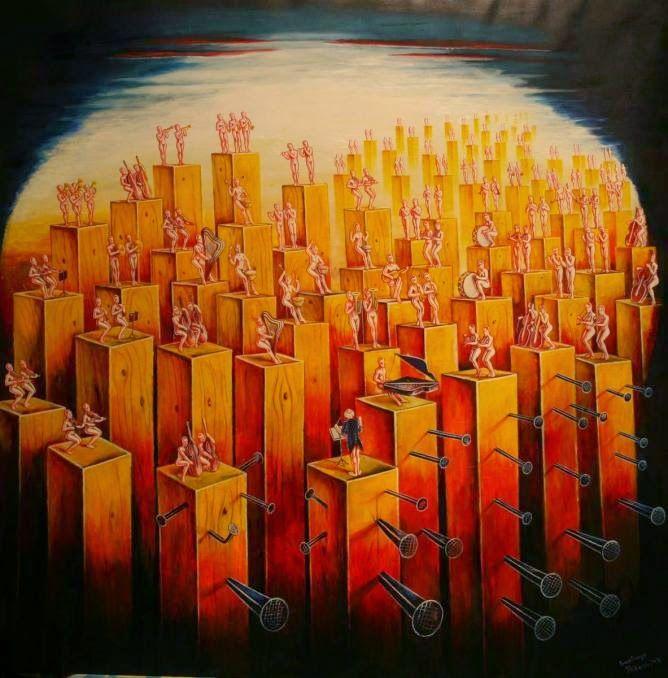 SANTIAGO RIBEIRO Portuguese artist Surrealism at 21st Century