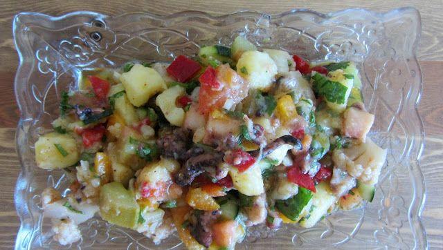 A Casinha das Bolachas: Salada de Polvo