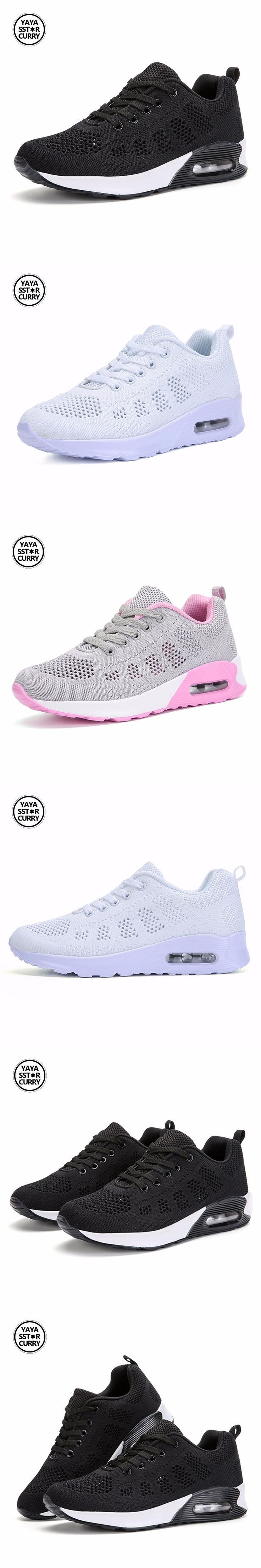 Brand air cushion running shoes for women 360 walking Sneaker Breathable Mesh Outdoor sneakers women zapatillas hombre deportiva