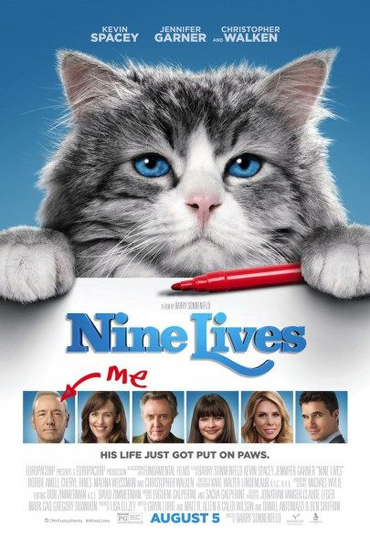 Nine Lives Movie Poster 2016
