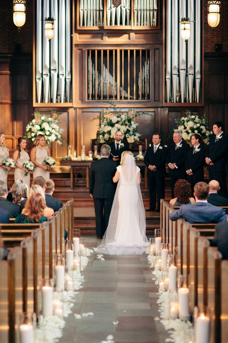 Jimmy And Brooke Real Wedding Enchanted Florist AIS Portraits Nashville TN Planner Venue Wightman Chapel At Scarritt Bennett Flowers