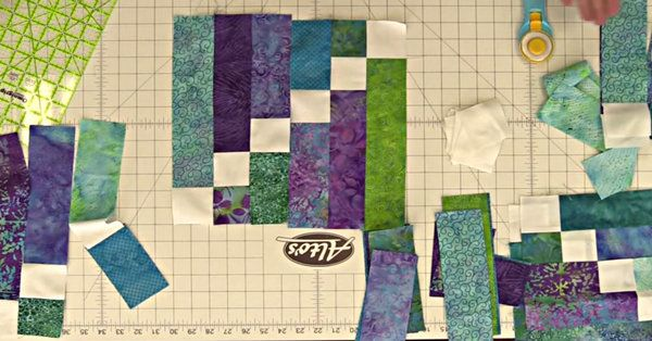 You Gotta See The Sticks And Stones Quilt…I Especially Love The Border!