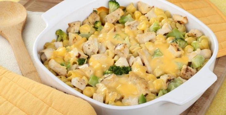 Pâtes au fromage…poulet et brocoli