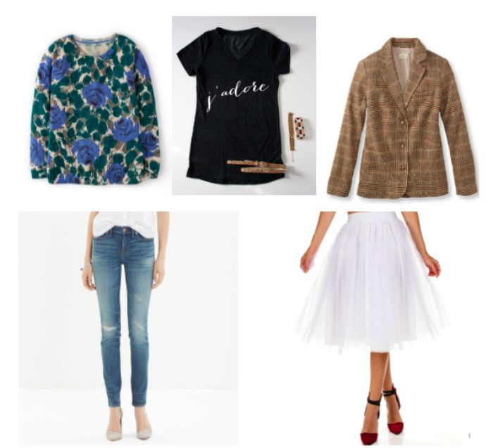 We rounded up five wardrobe staples that every woman already has in her closet and found nine inventive ways to style them.