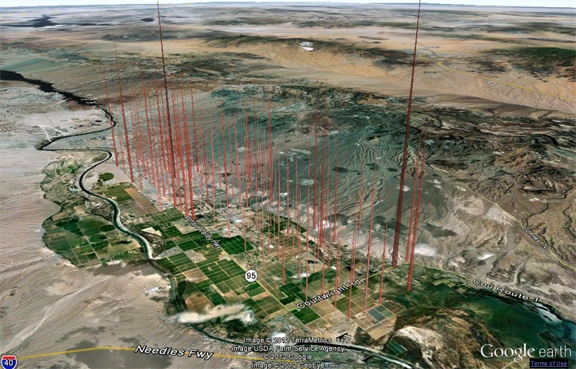 DataAppeal 3D visualization on the google earth platform http://dataappeal.com/Platform Httpdataappealcom