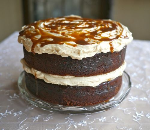 Based on the perfect British winter dessert - the sticky toffee pudding - why not indulge in a sticky toffee cake?