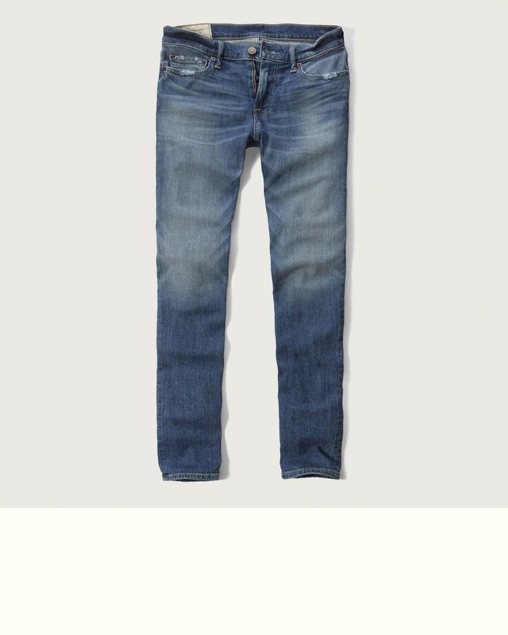Mens - Super Skinny Everyday Stretch Jeans | Mens - Jeans | Abercrombie.com