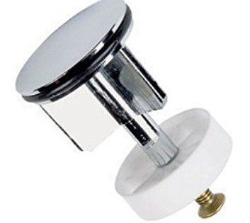 """Bonde pour lavabo Chromée 40 mm: Ziggi Bonde pour lavabo 1 1/4 """"(32 mm) pour lavabo de taille standard Laiton massif, finition chromée Cet…"""