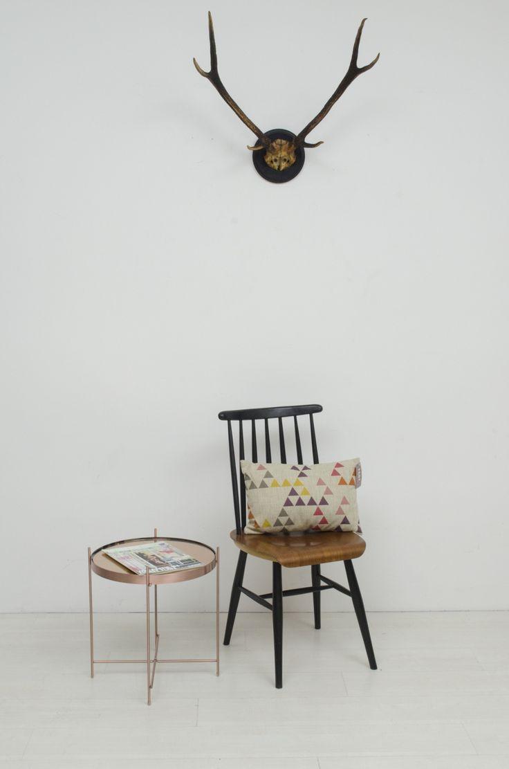 Scandinavische houten stoel