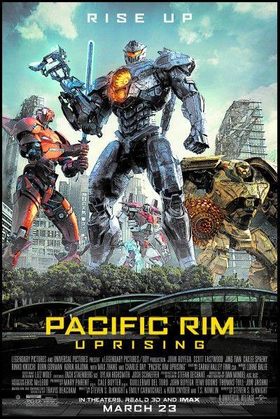 Pacific Rim Uprising 2018 By Steven S Deknight