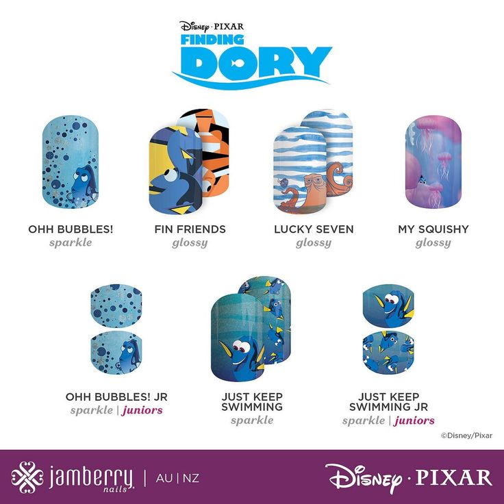 Finding Dory - Disney Collection by Jamberry